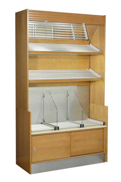 Modular back display mod.A for bakery products.