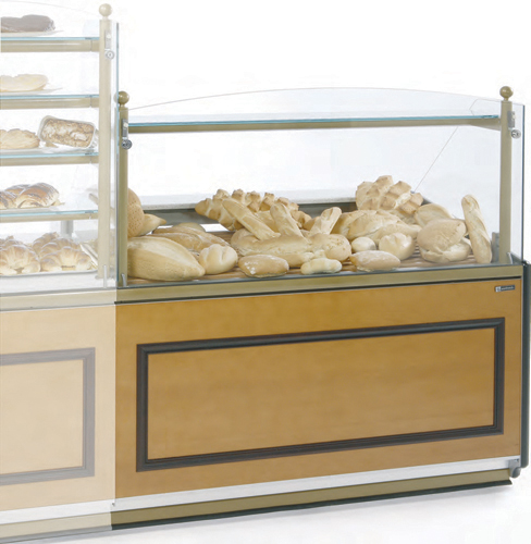 VR-90-N Ambient display case straight glass