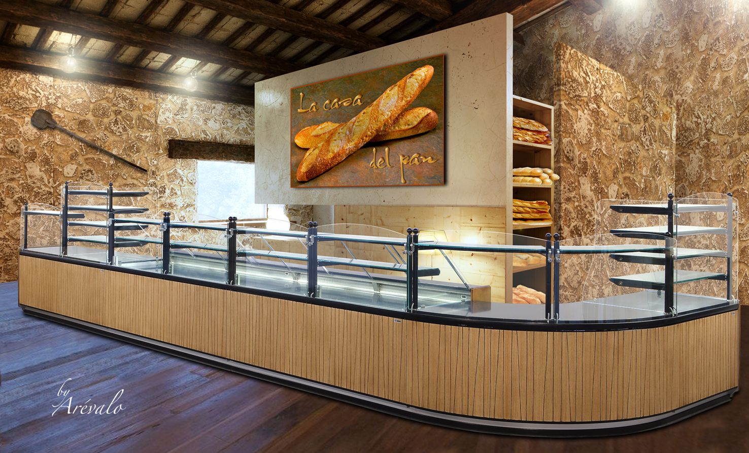 Propat equipment bakery and pastry equipment in quebec - Presentoir photos mural ...